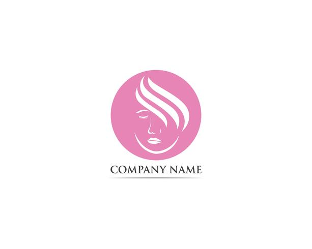 Schoonheidssalon logo-vectoren