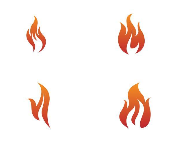 Brandvektorns ikonlogotyp vektor
