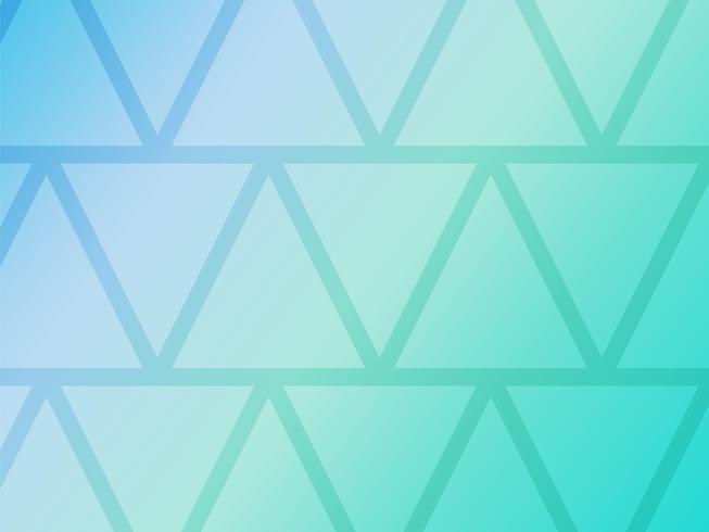 Abstracte blauwe achtergrond met geometrische driehoeken vormen