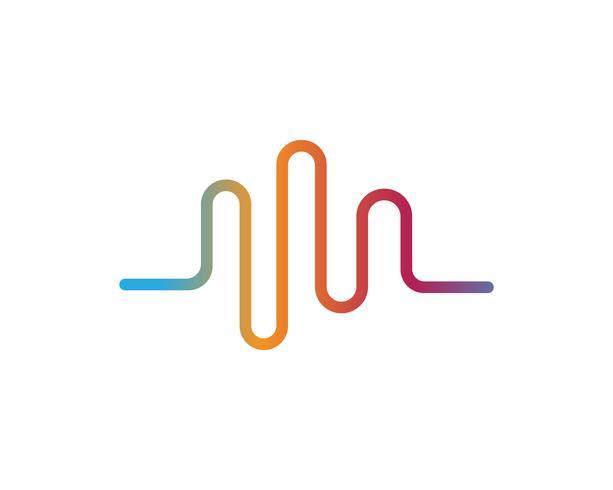 ilustrations di onde sonore