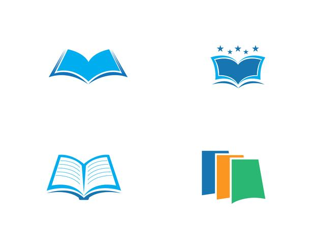 Education Book Logo Template vector illustration