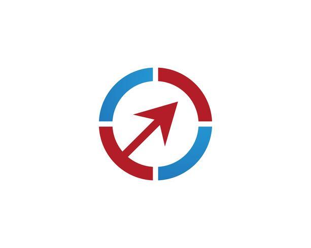 Kreis-Logo-Vektor-Vorlagen