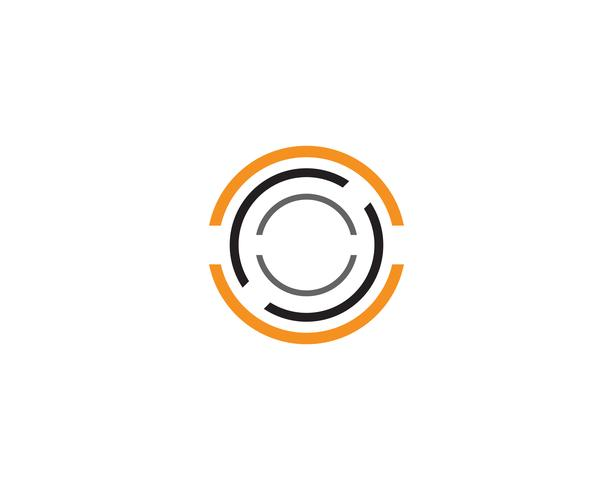 Circle logo vector templates