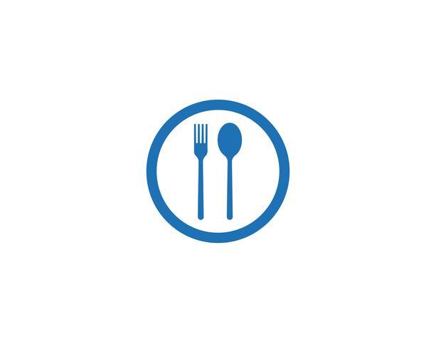 vork en lepel pictogrammen
