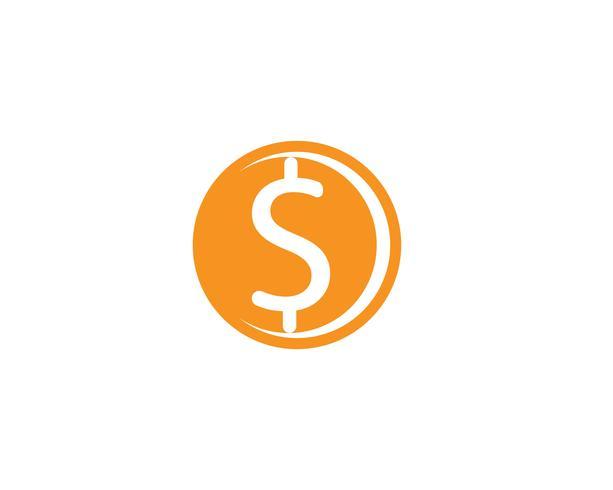 Icône de vecteur d'argent