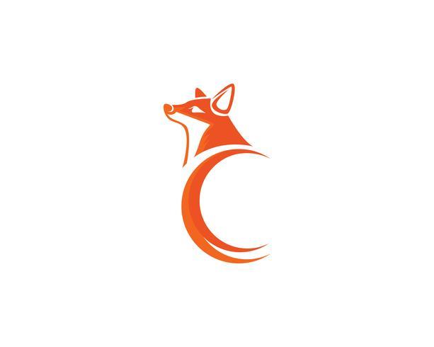 Fox Logo Vektor Vorlage Illustrator