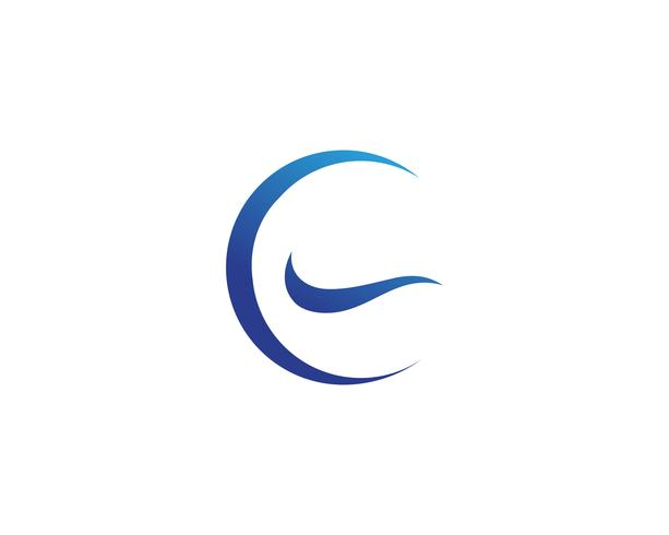 modelos de vetor de logotipo de círculo