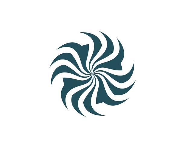 vortex circle logo and symbols template