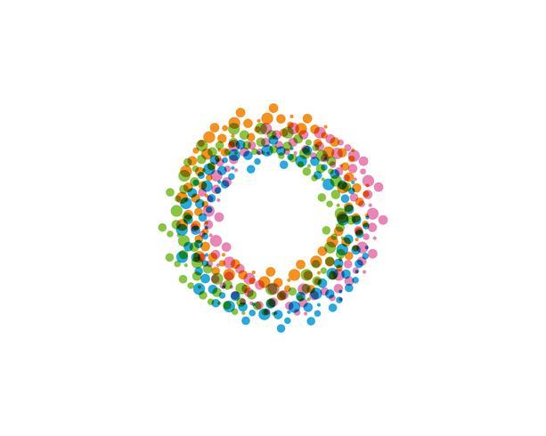 Circle logo vector templates