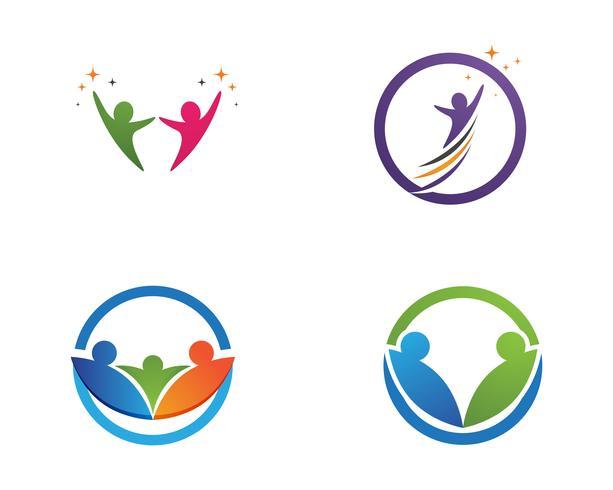 Gemenskapens logotyp och symboler