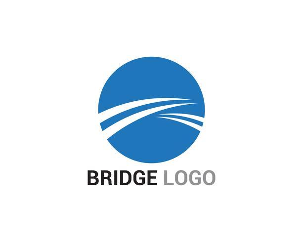 Bridge logo and symbol vector template building - Download ...