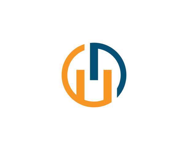 Plantilla de vector de logotipo de finanzas