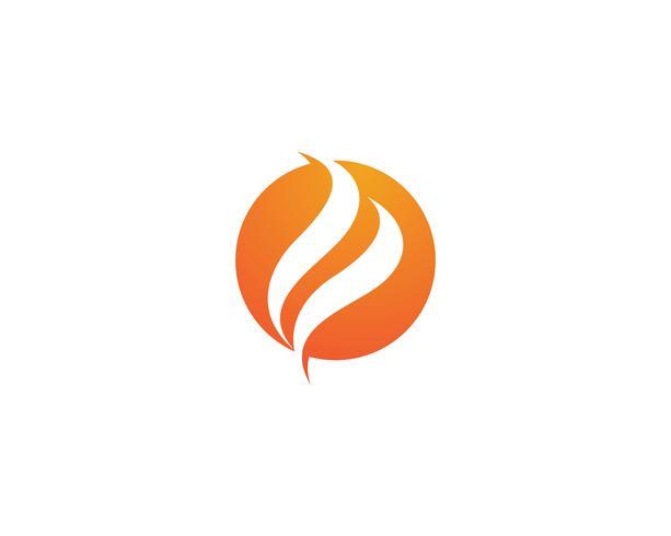 Feuer Logo Vektor Vorlage