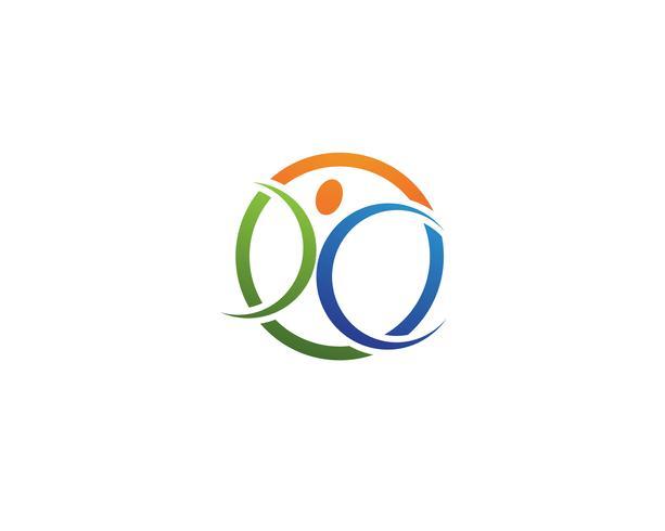 Leadership people logo vectors