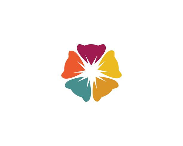 Schönheitsplumeriaikonenblumen-Designillustration