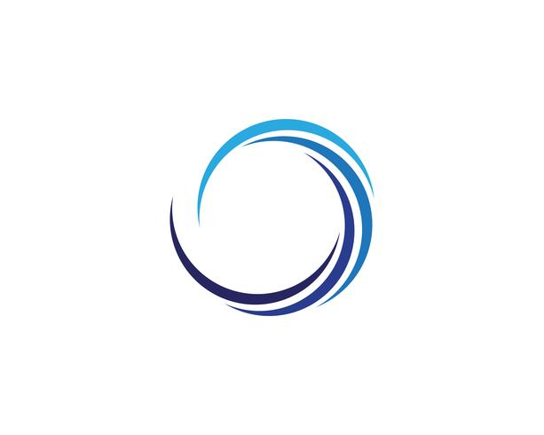 Cirkel logotyp vektor mallar