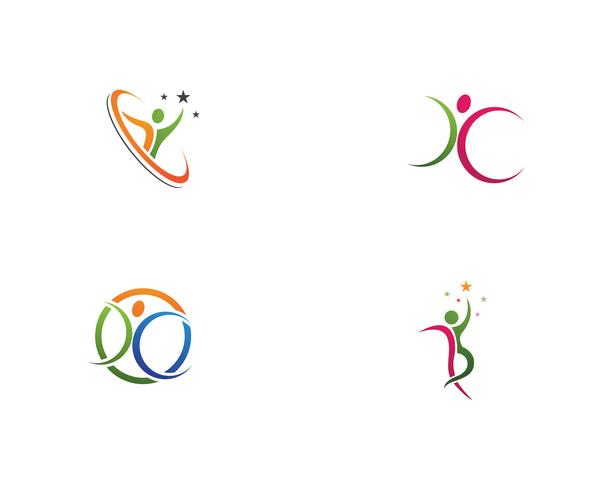 Leadership people logo vectors