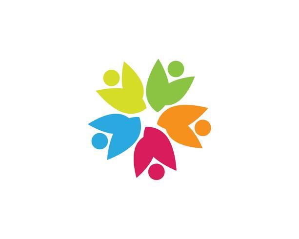 Community people logo and symbols