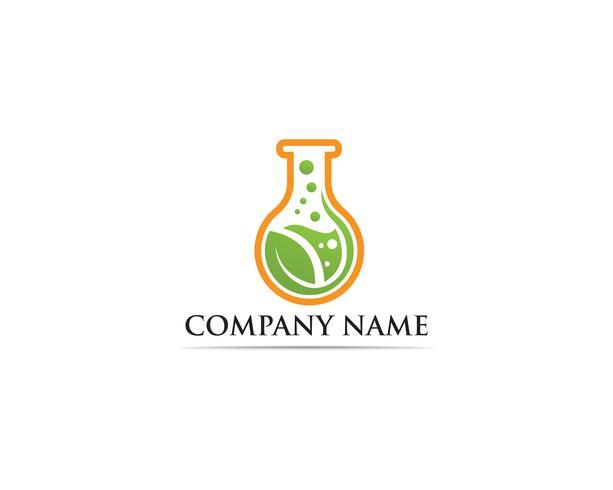 Illustration de modèle Lab logo vector icon