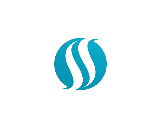 S logo vector template