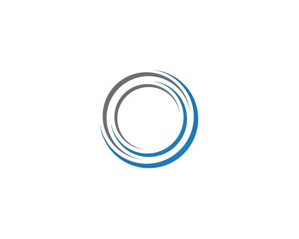 plantillas de vectores logo círculo