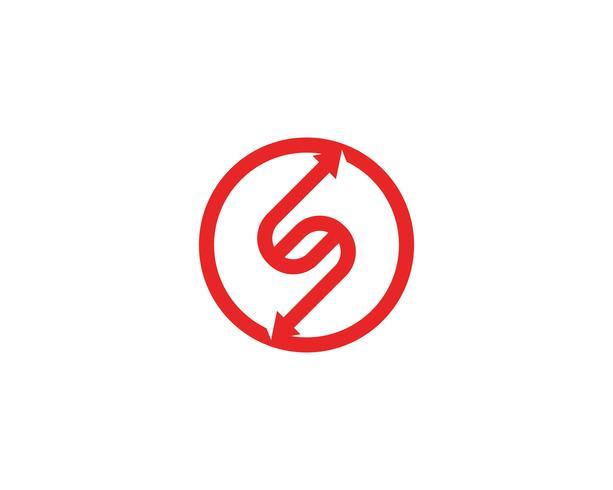 S logo vector template