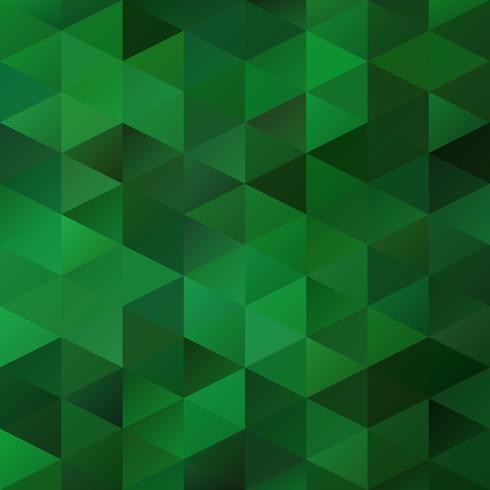 Green Grid Mosaic bakgrund, kreativa design mallar