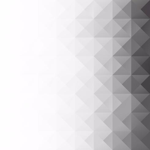 Grå White Grid Mosaic bakgrund, kreativa design mallar