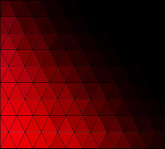 Red Square Grid Mosaic bakgrund, kreativa design mallar