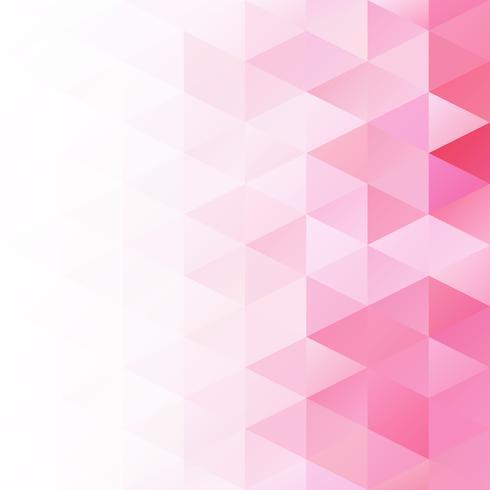 Pink Grid Mosaic Background, Creative Design Templates