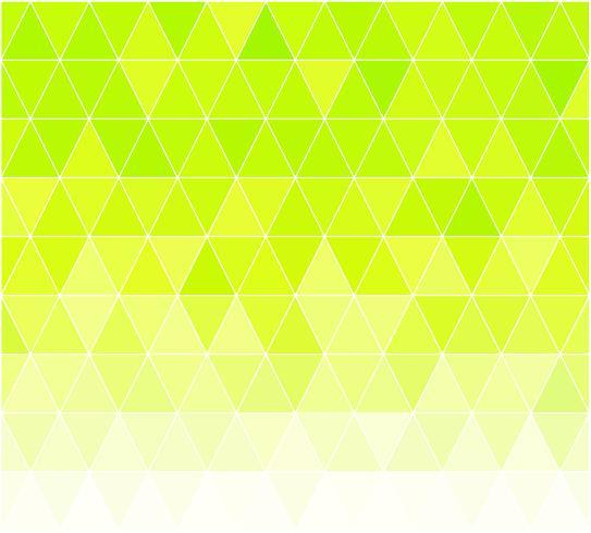 Grüner Gitter-Mosaik-Hintergrund, kreative Design-Schablonen
