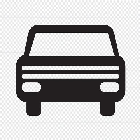 Car icon  symbol sign