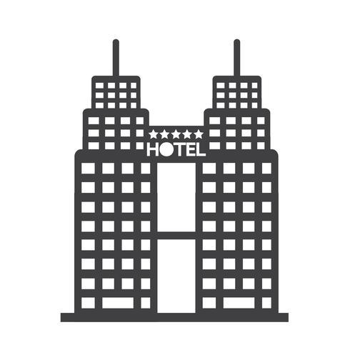 Hotel Icon  symbol sign