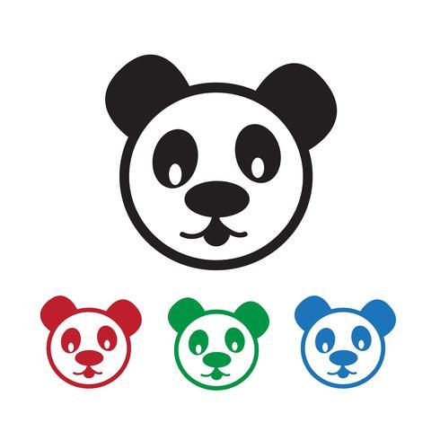 Panda Icon  symbol sign