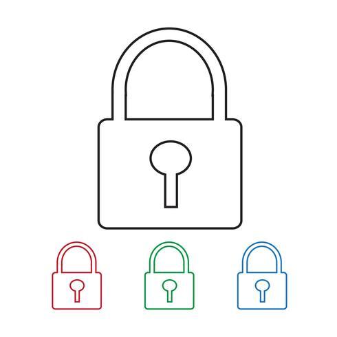 Lock Icon  symbol sign