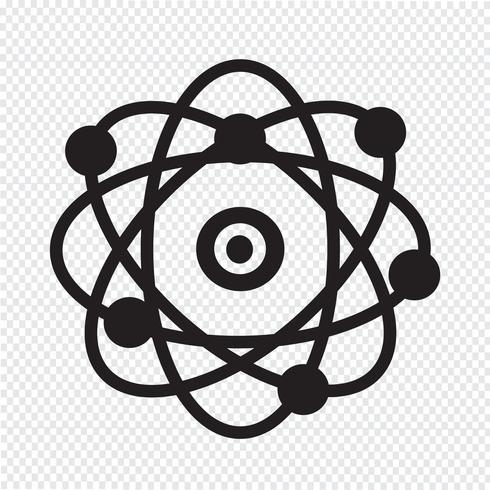 atom symbol symbol tecken