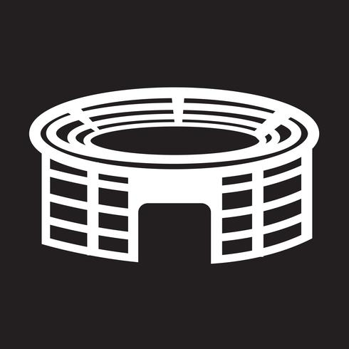Stadium  icon  symbol sign