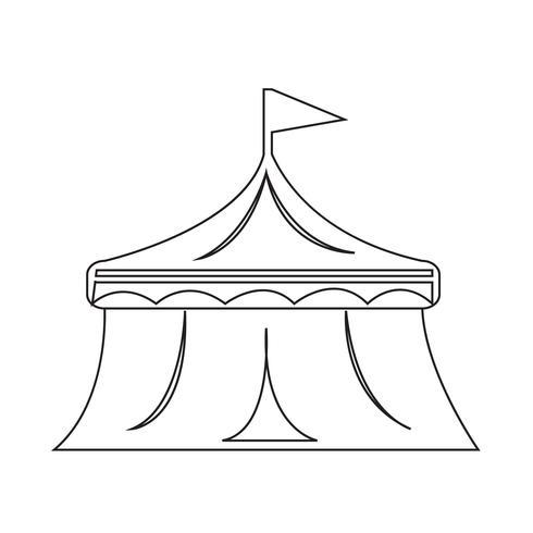 circus icon  symbol sign