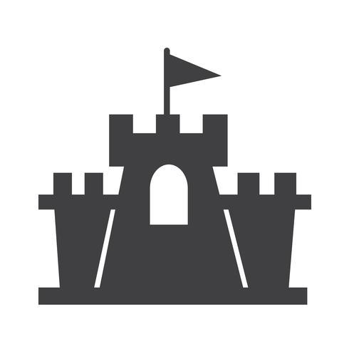 castle icon  symbol sign