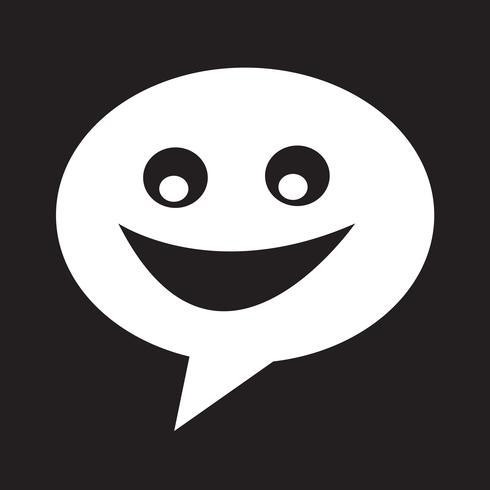 Icono de diálogo símbolo de signo