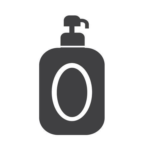 shampoo pictogram symbool teken