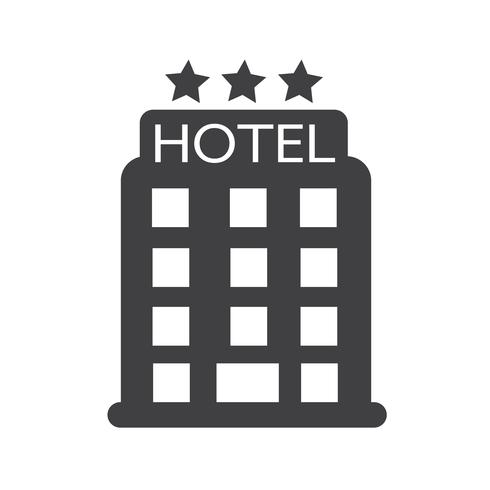 hotel icon  symbol sign vector