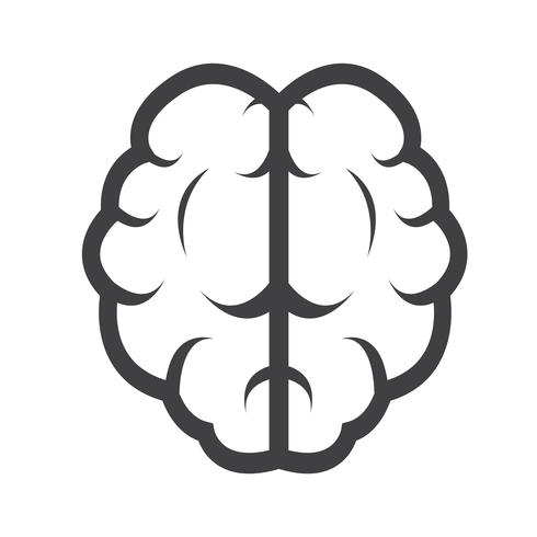 Brain icon  symbol sign