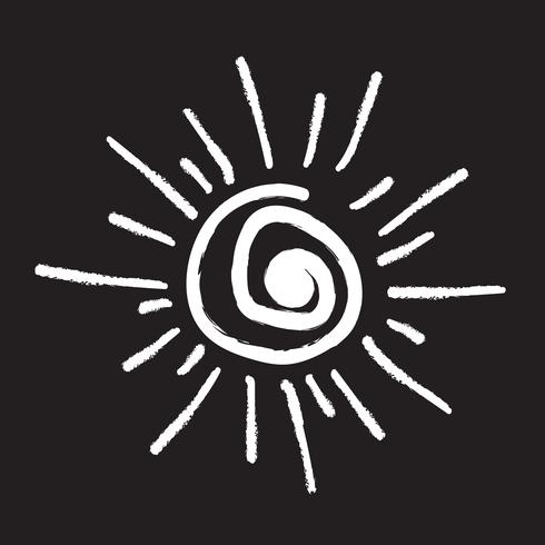Segno simbolo icona di sole