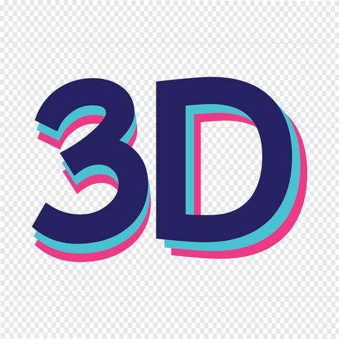Symbolzeichen der Ikone 3d