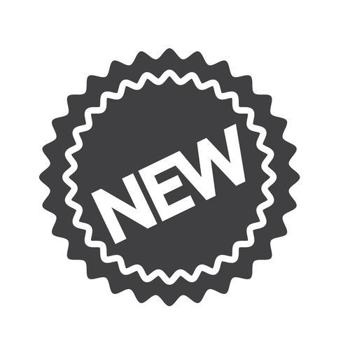 nytt ikon symbol tecken