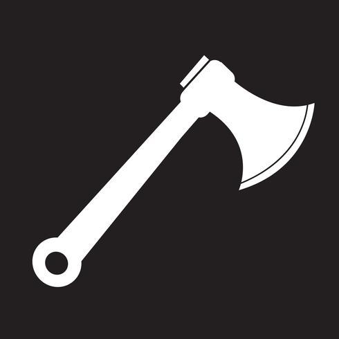 segno di ascia icona simbolo