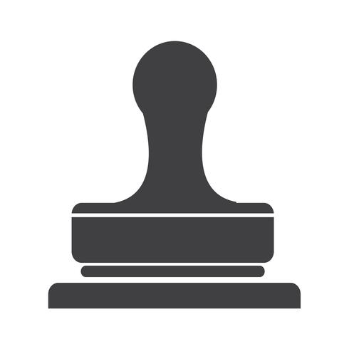 Stamp icon  symbol sign