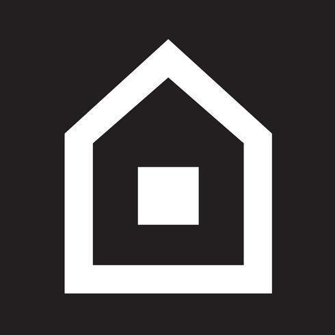 Casa, ícone, símbolo, sinal
