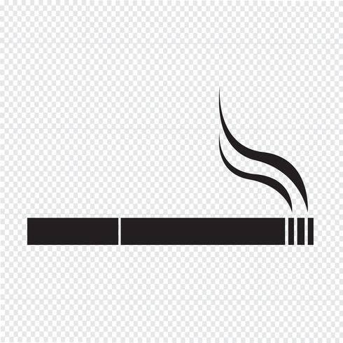 Cigarette icon  symbol sign